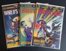 DC comics Superman/Batman WORLD'S FINEST 1-3
