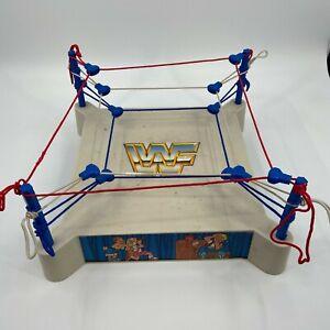 1985 WWF LJN SLING EM FLING EM WRESTLING SUPERSTARS FIGURE RING WWE TITAN SPORTS