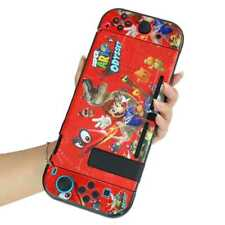 Mario Odyssey Game Sticker Dockable Shell Case Cover For Nintendo Switch Joy-con