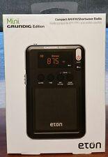 eton Compact AM/FM Shortwave Radio Mini GRUNDIG Edition black NGWMINIB  NEW