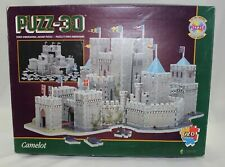1997 PUZZ 3D CAMELOT 3 Dimensional Jigsaw Puzzle 620 Pieces Difficult Sealed NEW