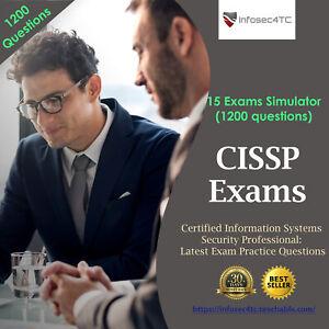 ISC2 CISSP: Latest Exam Preparation Questions (1200 Questions)