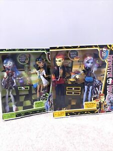 Monster High Mad Science and Home Ick sets