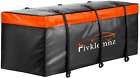 Fivklemnz Car Cargo Carrier Bag 20 Cubic Feet Waterproof Hitch Tray Cargo Carri