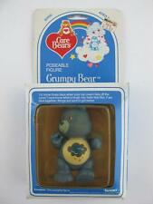 1984 Vintage Kenner Care Bears GRUMPY Poseable PVC Figure MINT in Original Box