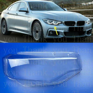Right Side Headlight Cover With Glue For BMW 4-Series F32 F33 F36 F82 2014-2018s