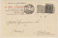 MILANO - DITTA G.PARAVIDINI - MOBILI DECORAZIONI TAPPEZZERIE 1920