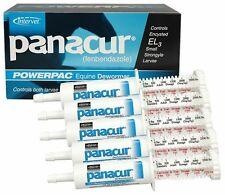 PANACUR Powerpac Fenbendazole Oral Paste Horse Pony Dewormer 5 LG TUBES 5 X 57gm