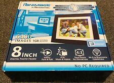 Pandigital PanImage PI8004W01 Digital photo frame 8