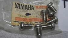 NOS Yamaha Exhaust Pan Head Screws 83 84 YZ 79-83 XS 76-79 DT 92580-06012 QTY7