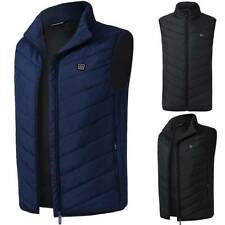 Electric Vest Heated Jacket USB Heating Pad Winter Body Warmer Coat Casual Tops