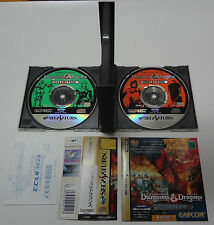 Dungeons And Dragons Collection W/Spine + Registration Card Sega Saturn Japan