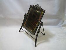 Victorian Ornate Swivel Tilt Free Standing DRESSER Beveled Glass Vanity MIRROR
