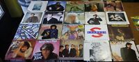 "20X SINGLES 7"" **COLLECTION 45 VINYL PACKAGE #25 [70S 80S POP SYNTH DISCO...]"