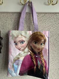 Disney Frozen Elsa and Anna Bag Shopper Tote Swim Bag