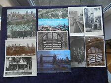 12 POSTCARDS TOWER OF LONDON, SCAFFOLD, TRAITORS' GATE, BEEFEATERS, BLOODY TOWER