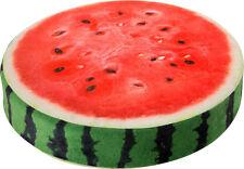 Sitzkissen Melone mit Schaumstoff-Füllung Höhe: ca. 7 cm  Ø ca. 38 cm