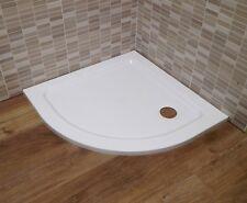 Piatto doccia slim sottile altezza 3 cm - 80x80 semicircolare