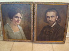 VINTAGE 1920'S BJ MABEL PALMER CHIROPRACTIC PORTRAITS