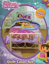 FANTASY ADVENTURES DORA MERMAID EXPLORER QUILT COVER SET DOUBLE & SLEEPING BAG