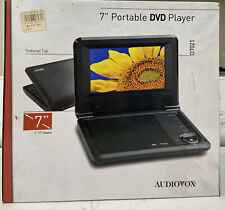 """New listing Audiovox D7021 Portable Dvd Player (7"""")"""