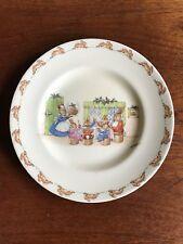 Vintage Royal Doulton Bunnykins Dinner Plate Signed Barbara Vernon