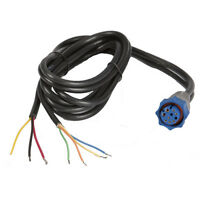 Lowrance 127-49 HOOK 4/5/7 & HDS/Elite HDI Power Cable (Blue Plug) PC-30-RS422