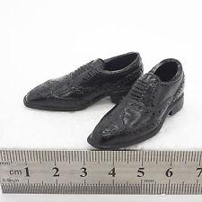 Xb54-02 1/6 Scale Hoy Male Shoes (hollow) Black Toys
