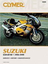Suzuki GSX-R750 GSXR750 1996-1999 Clymer Handbuch M485 NEU