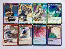 Hunter X Hunter Miracle Battle Carddass Rare Set HH03 8/8