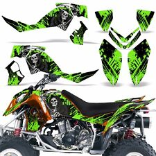 Decal Graphic Kit Polaris Outlaw 500/525 ATV Quad Wrap Deco 2006-2008 REAP GREEN