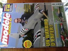 µ?b  Revue Modele Magazine n°767 plan en encart La vis à nuage  / Pilatus PC-21