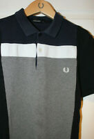 Mens FRED PERRY Polo T Shirt Size M