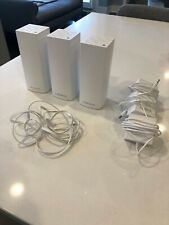 Linksys Velop Whole Home Mesh WiFi 3-Node Tri-Band Ac6600 WHW0303