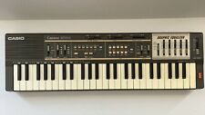Casio MT-100 Casiotone Keyboard Synthesizer Graphic Equalizer Tested Works Great