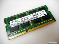 4GB RAM Samsung M471B5273DH0-CK0 DDR3 PC3-12800, 1600MHz 204 PIN SODIMM Speicher
