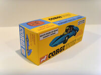 CORGI TOYS No. 347 - CHEVROLET ASTRO CAR. Superb, custom display / repro box.