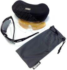 Uvex Sportstyle 111 Shooting Glasses Set - White, Dark, Orange Eye Protection