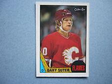 1987/88 O-PEE-CHEE NHL HOCKEY CARD #176 GARY SUTER NM 87/88 OPC