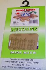 Metcalfe PO510 Mini Kit - Picnic Tables x 3, 00 Railway Model Kit