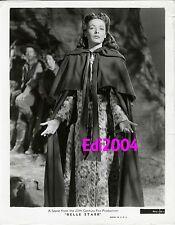 "GENE TIERNEY Vintage Original Photo ""BELLE STARR"" 1941 Cape & Gown RARE Scene"