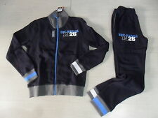 TG. S MACRON NAPOLI NUOVA TUTA FELPATA 2013 OFFICIAL WINTER COTTON TRACKSUIT
