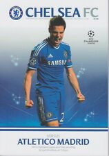Chelsea V Atletico Madrid Champions League Finale 2013/14 programme 2014