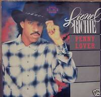 """LIONEL RICHIE - Penny Lover - 7"""" Single PS"""
