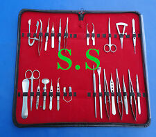 26 Pieces Set Basic Eye Micro Surgery Surgical Instruments Kit