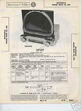 Motorola SROB Car Radio-Sams Photofact Tech Docs