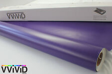 Purple Matte Flat Vinyl Wrap Roll 5ftx25ft Decal for Car Bike Boat MPU5M