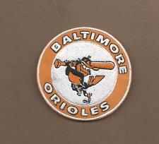 NEW 3 INCH BALTIMORE ORIOLES IRON ON PATCH FREE SHIPPING
