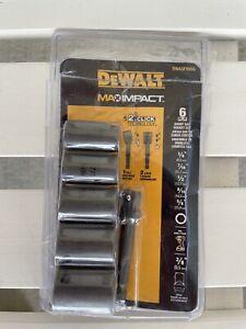 Dewalt six piece short socket set
