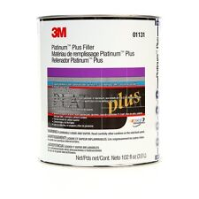 3m Platinum Plus Body Filler NEW WITH HARDNER (O1131)